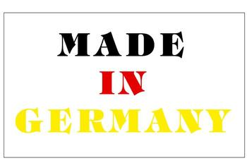 20x12mm MADE IN GERMANY self-adhesive paper label sticker for origianl products, 20000 pcs/lot, Item No. FA24