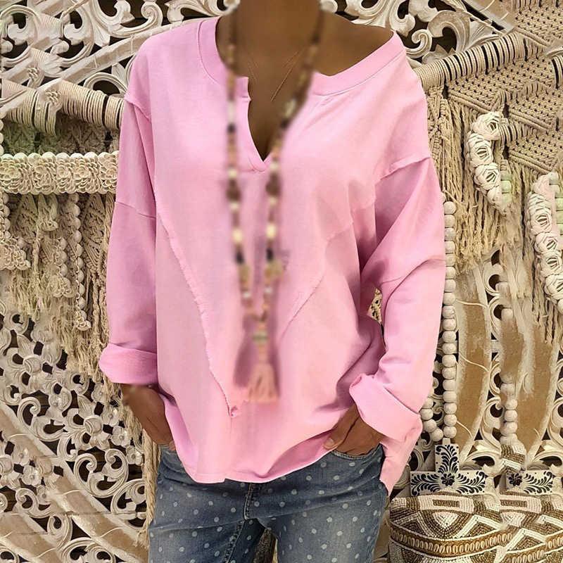 Фото Женские топы блузки вечерние летние пуловеры модные мешковатые пляжные рубашки