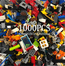 1000 Pieces Building Blocks Toy DIY Educational Bricks Toy Compatible Legoings Kids Toys for Children