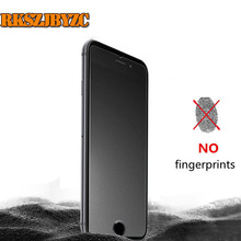 No Fingerprint 9H Premium Tempered Glass Screen Protector For iphone7 Frosted Glass Protective Film For iPhone 7plus matte glass