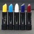 New brand  Cosmetic  multi Colors Lipstick Vampire Grape Purple Dark Black blue Lipstick Vampire Style Matte Lipstick Masquerade