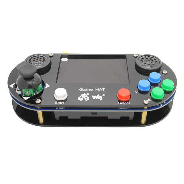 라즈베리 파이 4 모델 B / 3 B + 플러스/3B/제로 W RetroPie 게임 모자 콘솔 게임 패드 480x320 3.5 인치 IPS 스크린