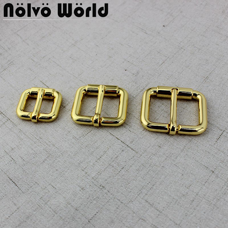 50pcs Inner 19mm 25mm 32mm Turn Buckle  Square Pin Buckle Belt Buckle