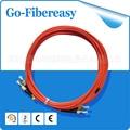 5pcs/lot Fiber Optic Patch Cord FC-ST Multi-mode Duplex 62.5/125um 3.0mm 3Meters
