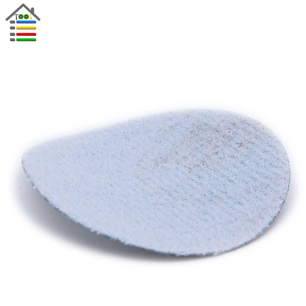 61 pc מלטש דיסק 80-600 מעורב חצץ סנדר דיסקים 2 אינץ 50mm נייר זכוכית ליטוש כרית צלחת עבור dremel 4000 3000 שוחקים כלים