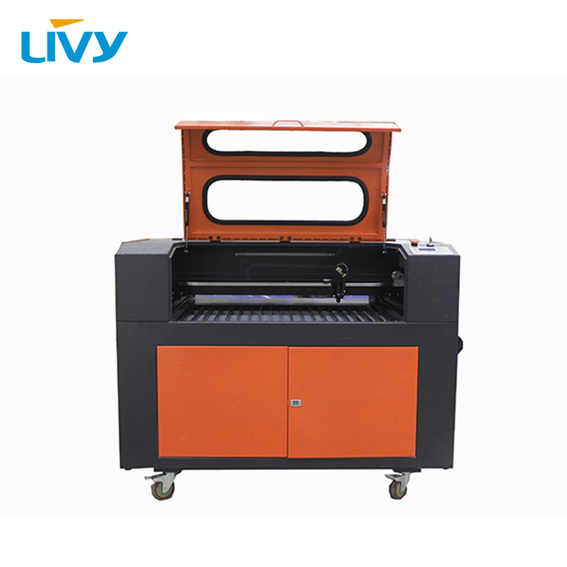 Graveur laser CO2 et découpeur laser 6090 avec logiciel de contrôle RDC 6442 S pour contreplaqué et MDF