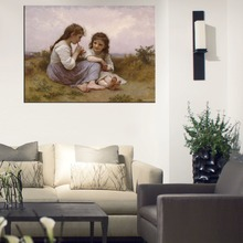 William Adolphe Bouguereau Prints  Reproduction Canvas wall Art Abstract Wall Painting For Living Room Paintings