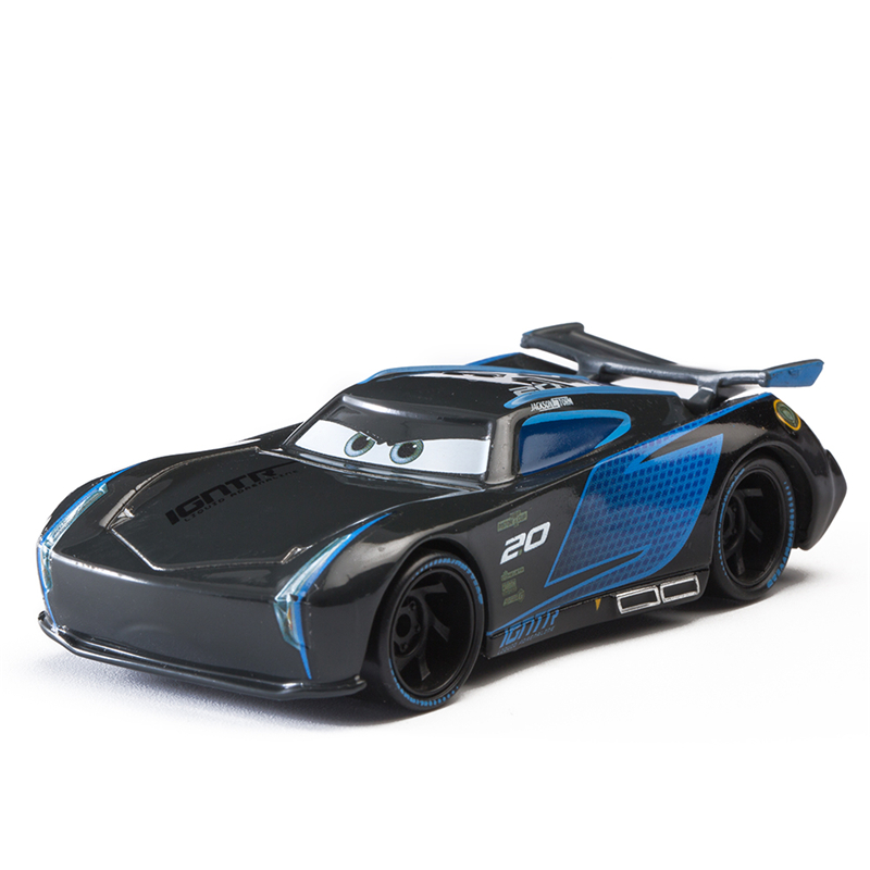 Disney Pixar Cars 3 Jackson Storm Lightning McQueen Cruz Ramirez Mater 1:55 Diecast Metal Alloy Model Car Toy Children Gift Boys