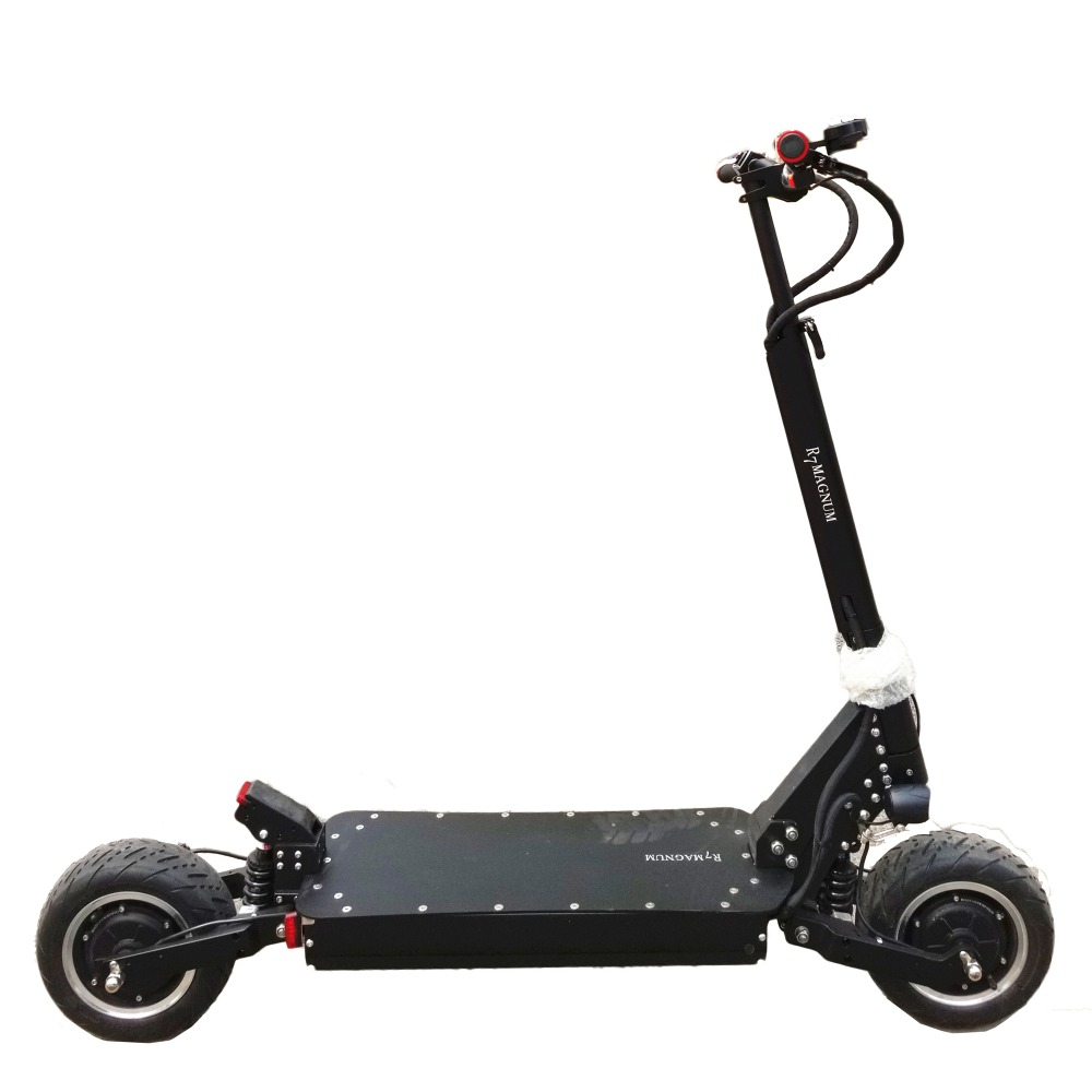 Sports & Entertainment Methodical Kwheel R7 60v Lithium Battery Electric Scooter Dual Motors 2800w E-scooter Attractive Appearance Electric Scooters