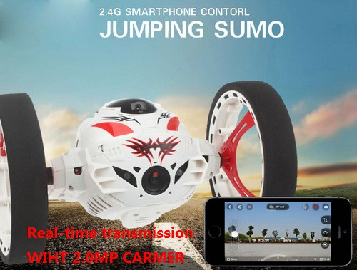 Newest RC Car 1:10 Upgraded bouncing Remote Control jump sumo Car with HD Camera App Wifi Controlled Rc Bouncing racing office remote controlled rechargeable racing kart r c car with desktop stand 40mhz