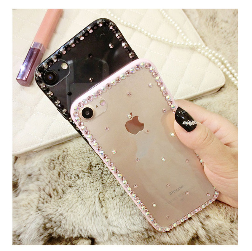Luxury-Bling-Diamond-Clear-Case-For-iphone-X-7-8-7-8PLUS-Rubber-Girly-Luxury-TPU (4)