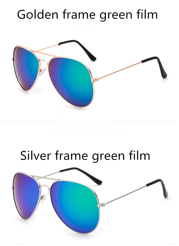 ASUOP2017 new men and women sunglasses pilots glasses high-end brand popular sun glasses goggles UV400 sunglasses sunglasses (6)