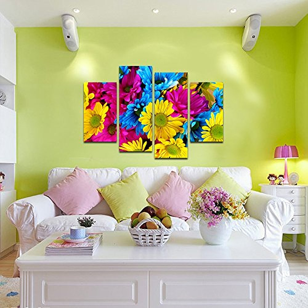 Pretty Daisy Wall Art Ideas - The Wall Art Decorations ...