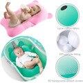 1pcs Baby Bath Tub Coussin Lycra Cotton Newborn Baby Bathtub Floating Pad Mat Infant Bath Seat Safety Security Bath Seat Support