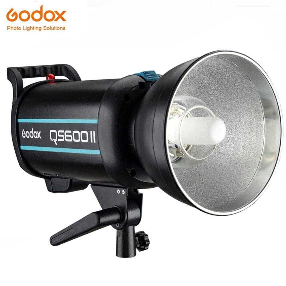 Godox QS600 II QS600II 600Ws GN76 профессиональная студийная стробоскоп со встроенным Godox 2,4G Беспроводная система X предлагает съемку