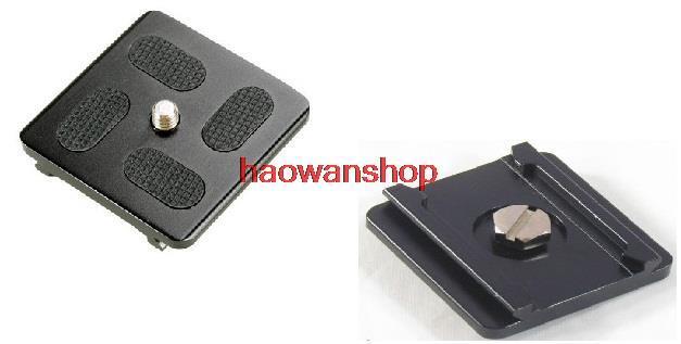 Metal Camera Quick release plate for Tripod Monopod Ball Head KS-0 KS-1 KS0 KS1