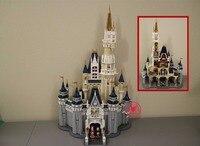 4080 шт. Золушка Принцесса замок Город fit legoings Принцесса замок мечты рисунках строительный блок кирпич Малыш DIY игрушка в подарок 71040