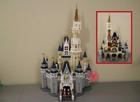 4080pcs Cinderella Princess Castle City fit legoings princess dream castle figures Building Block bricks Kid DIY Gift Toy 71040