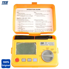 On sale TES-1604 Tests Insulation At rated Voltage Into A 1mA Load ,AutoRanging Insulation Tester
