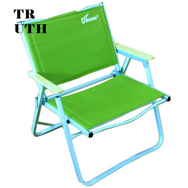 Outdoor de alumínio dobráveis genuíno CMARTE praia cadeira de praia cadeira de pesca poltrona mobiliário terno