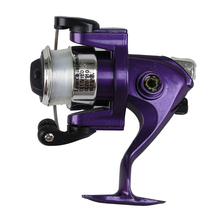 CGDS Saltwater Fishing Tackle Pen Shape Rod Pole & Reel Combos(Purple)