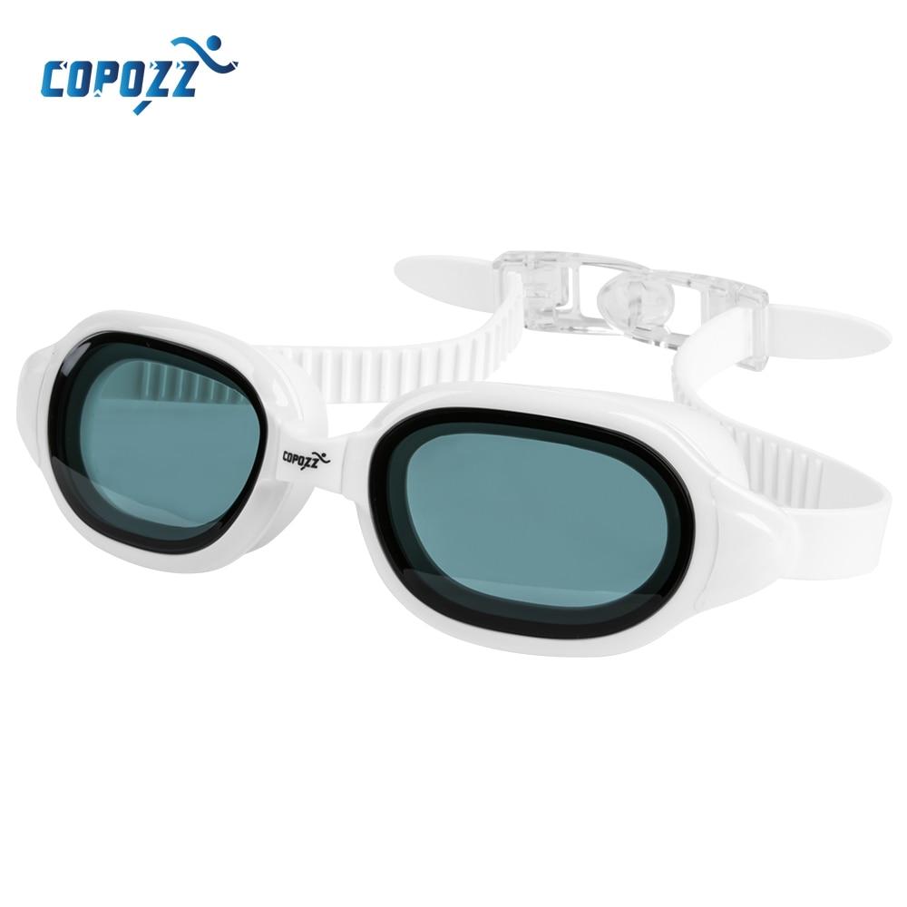 COPOZZ Myopia Swimming Goggles Men Women Adult Swim Goggle Professional Anti Fog Pool Swimming Glasses Diopter Zwembril -1.5 -7