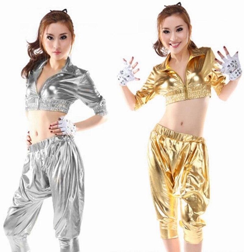Nové módní 2015 ženy hip hop kalhoty taneční oblečení tepláky kalhoty volné ležérní žena Bright Color kalhoty harem
