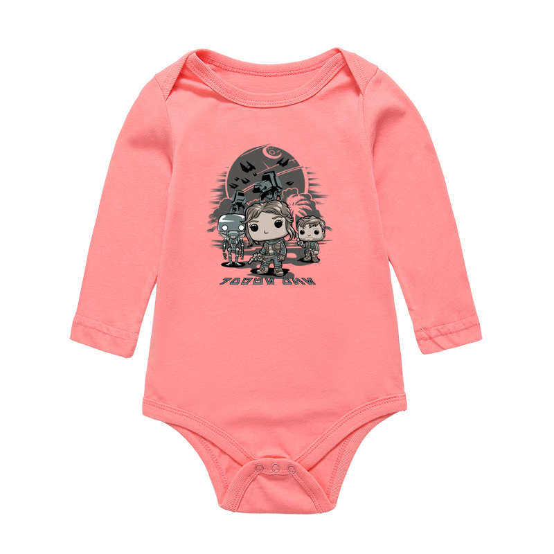 Baby Onesie Newborn Bodysuit Boys Girls Clothes 0-12M Famous Brand Jumpsuit Kids 100% Cotton Clothing Cartoon Toddler Bodysuit
