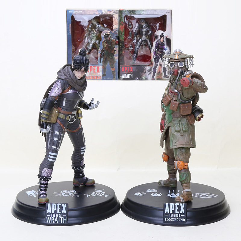 22cm Game Apex Legends Figure Bloodhound Wraith Action Figures Model Toy title=