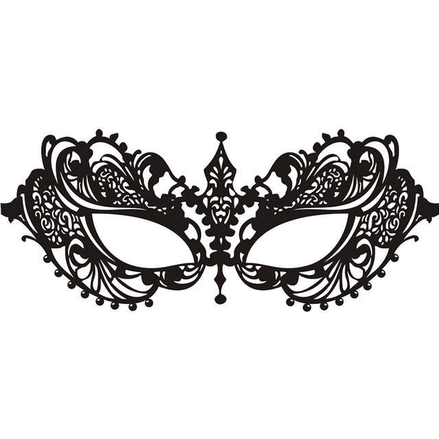 Online Shop Wall Room Decor Vinyl Sticker Mural Decal Venetian Mask
