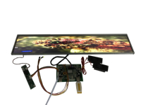 24 inch Stretched Bar LCD Panel DV240FBM NB0 with 1920*360 ,lcd advertising screen,Supermarket Shelf Screen