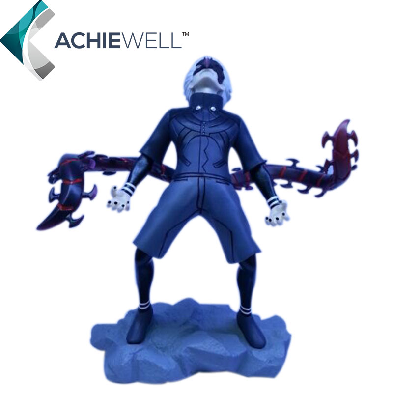 ФОТО New 2016 Anime Tokyo Ghoul Character Anger Kaneki Ken Action Figure Japanese Cartoon Models Boys Kids Gifts Collection Toys