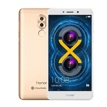 New Huawei Honor 6X BLN TL10 Dual Rear Camera 12MP 3GB RAM 32GB ROM 4G FDD LTE phone Octa core 5.5 inch 1920*1080px FingerPrint