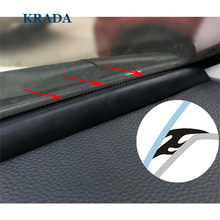 KRADA T Type Auto Rubber Seals 1.6m Windshield Seal Adhesive Strips Car Styling for BMW e36 x5 x1 x5 e53 f30 e34 e30 e92 x5 70