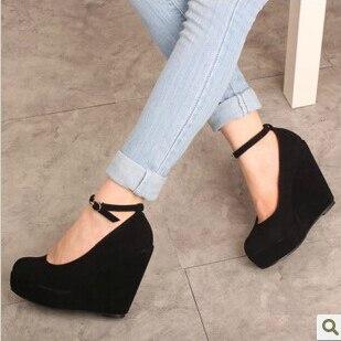 2014 spring autumn 11cm heels fashion women pumps black