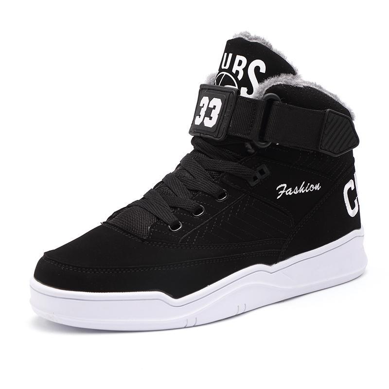 2019 Winter Männer Mode Stiefel Männer Schuhe Qualität Wildleder Stiefel Schnee Pelz Schnee Stiefel Männer Lace Up Stiefel Schuhe Hh-915 Verschiedene Stile