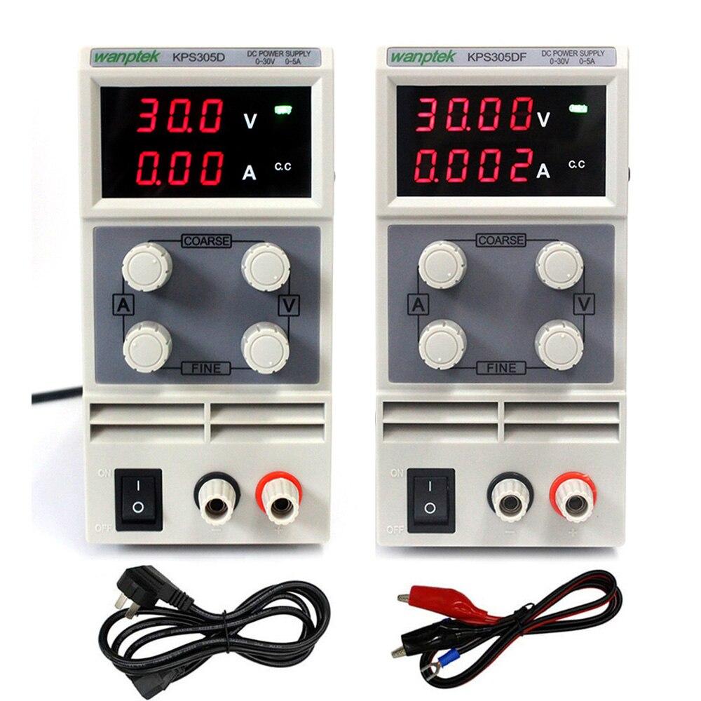 KPS1505D réglable haute précision Double LED affichage commutateur DC alimentation 15V5A ordinateur portable téléphone réparation laboratoire Test alimentation
