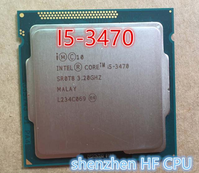 intel i5 3470 processor 3.2 ghz