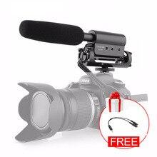 Takstar SGC 598 av tüfeği kayıt mikrofon kamera DSLR SLR Smartphone için Mic canlı Youtube Tiktok Vlog seti kiti film yapımı