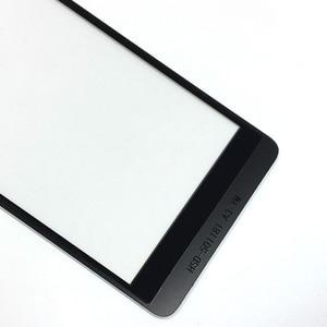 Image 2 - BQ BQS 5022 BQS 5022 bağ Sensörü dokunmatik Akıllı Telefon Dokunmatik Panel Cam Dokunmatik Ekran Değiştirme ile 3 m sticker