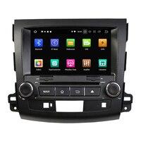 KLYDE 8 2 Din Android 8,0 автомобильный мультимедийный плеер для MITSUBISHI Outlander 2012 2006 автомобильный dvd плеер Радио Стерео 8 ядерный аудио