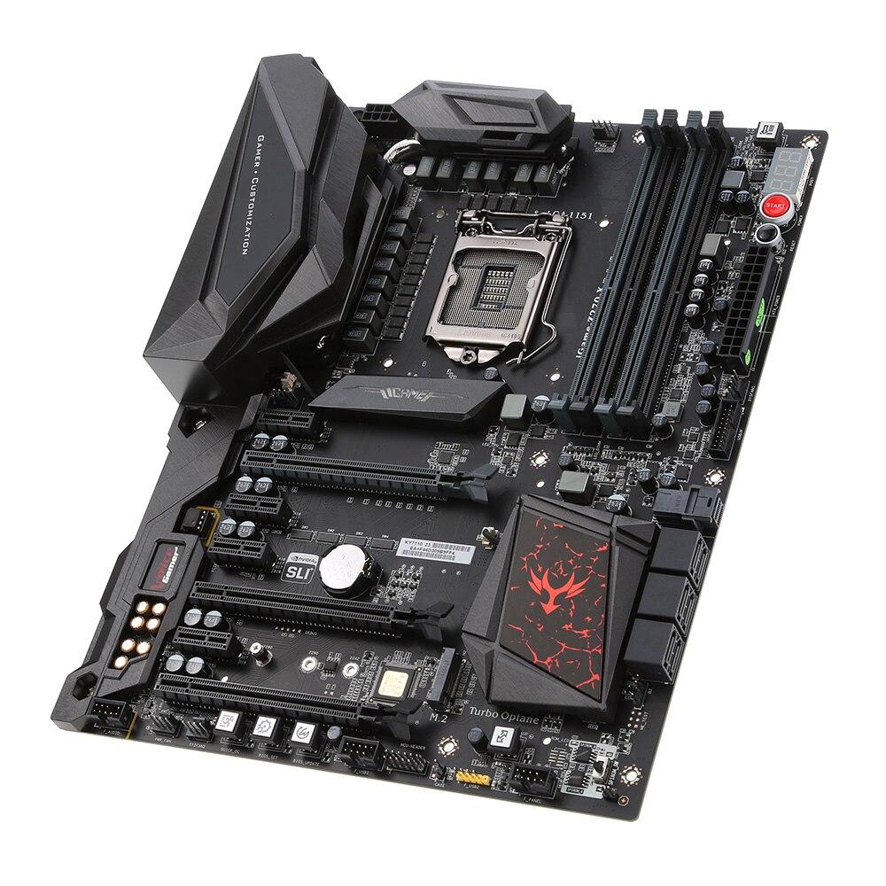 Bunte Igame Z270 Ymir-x Motherboard Mainboard Systemboard Für Intel Z270/lga1151 Ddr4 Atx Ddr4 Sata3 Usb3.1 M.2 U.2 Ports Neueste Technik
