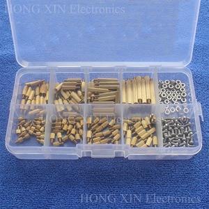 260Pcs/M2 PCB Threaded Brass M
