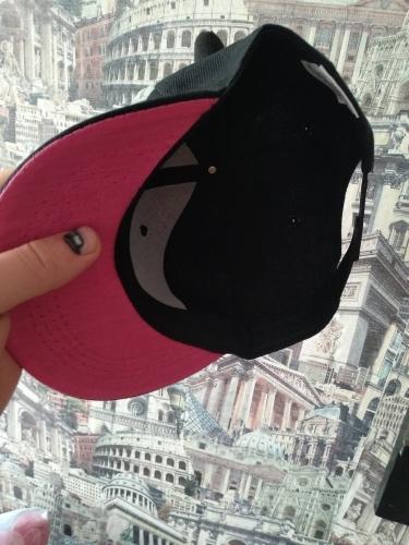 Men Women Kids Punk Horn Baseball Cap Hip-hop Hat Adjustable Snapback Cap With Horns Black