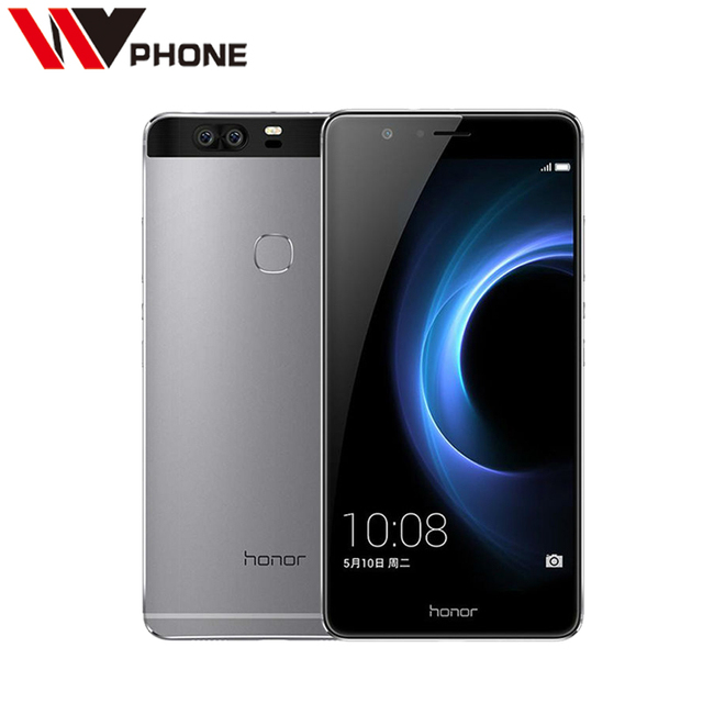 WV Original Huawei Honor V8 4G LTE Mobile Phone Octa Core 4G RAM 32G ROM 5.7 Inch Dual Rear 12.0MP Camera SmartPhone
