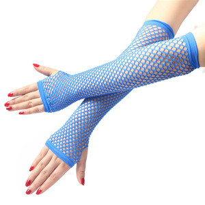 Image 4 - Cosplay Queen Bride Sex Costumes Accessories Womens Sexy Long Transparent Mesh Fishnet Gloves Pole Dance Erotic Toys Products