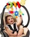 2017 новый младенческая Toys Детская кроватка вращается вокруг кровати коляску играть игрушка детская кровать токарный висит детские Погремушки Мобильные