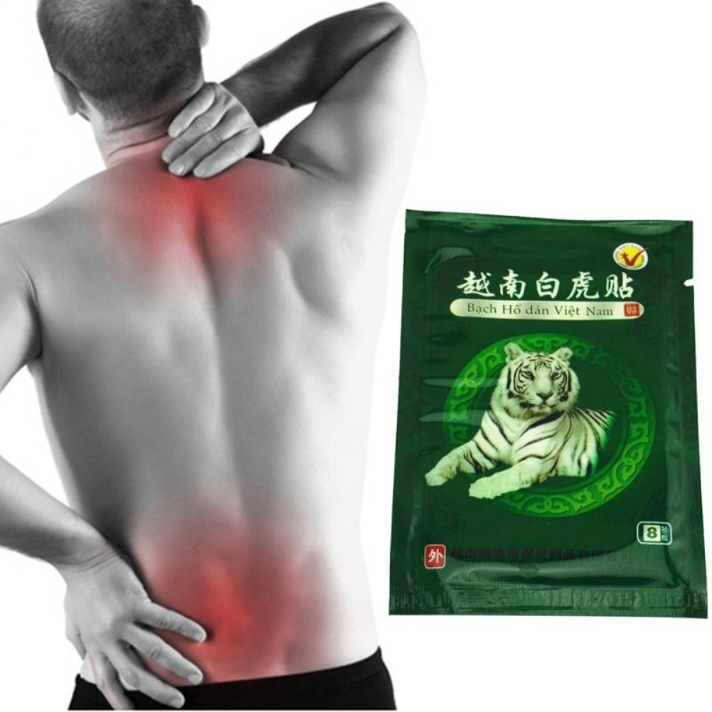 Plant Composition 8 Pcs/Box  Vietnam Tiger Balm Arthritis Pain Relief Plaster Cervical Waist Body Massage Patch