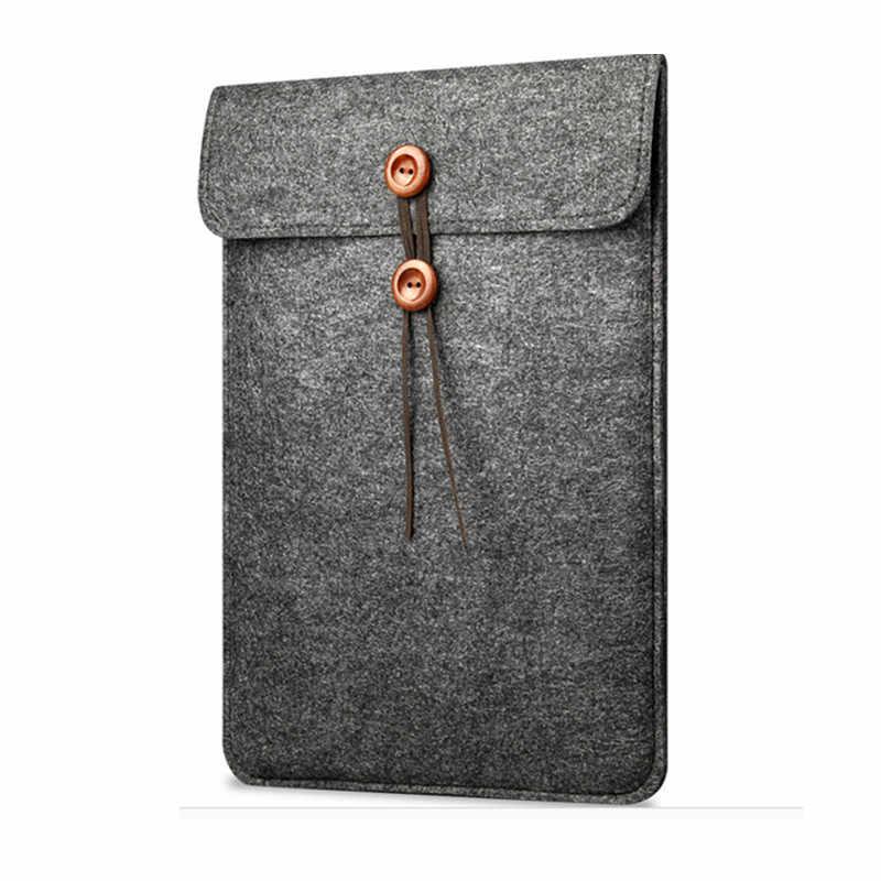 ورأى الصوف غطاء حقيبة لابتوب كم الحال بالنسبة لابل ماك بوك اير برو الشبكية 11 12 13.3 15.4 دفتر ل شاومي 13 15.6 بوصة غطاء