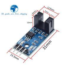 Завеса F249 4 контактный инфракрасный Скорость Сенсор модуль для Arduino/51/AVR/PIC 3,3 V-5 V Высокое качество